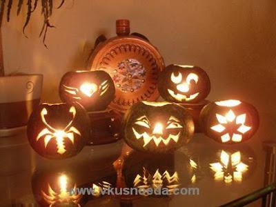 pumpkin lights of baby pumpkin