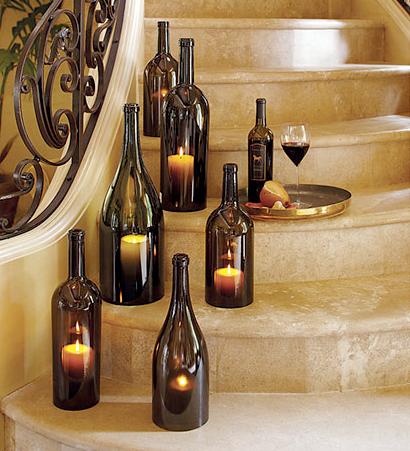 Ideas For Reusing Glass Bottles