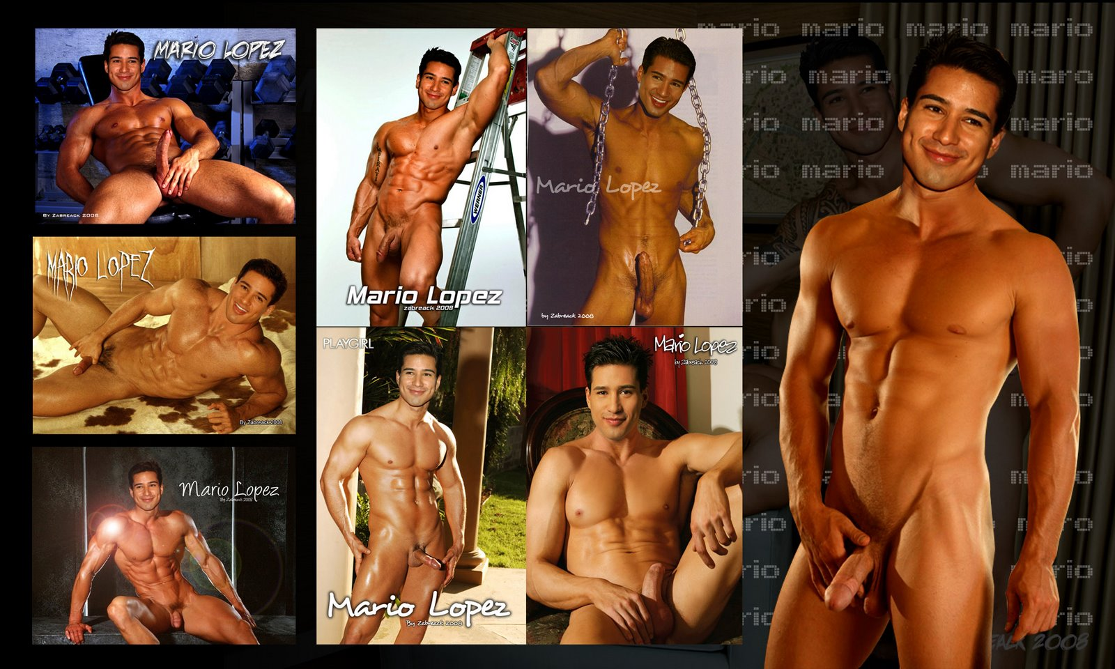 Male Celeb Fakes - Best Of The Net Mario Lopez Hard Cock -4649