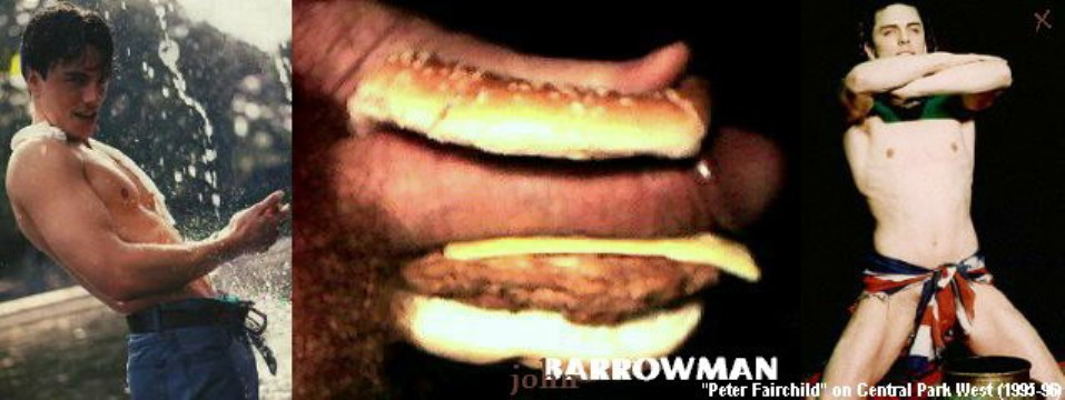 naked John barrowman