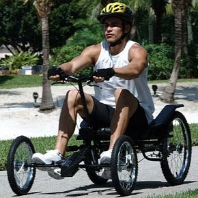 Alternative Vehicles Champiot Rowing Quadricycle