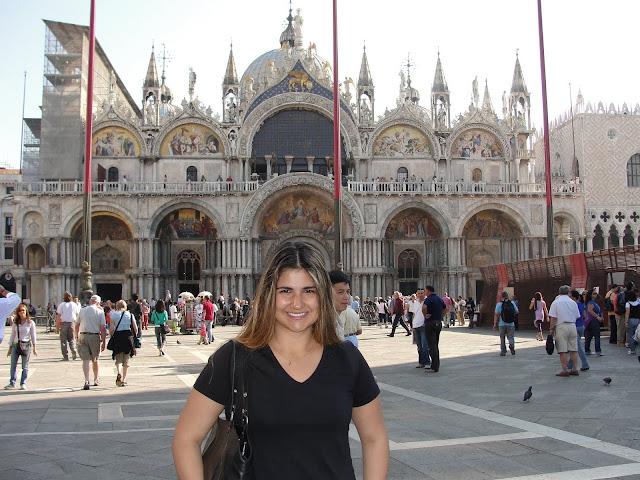 Basílica de São Marcos, Veneza, Itália.