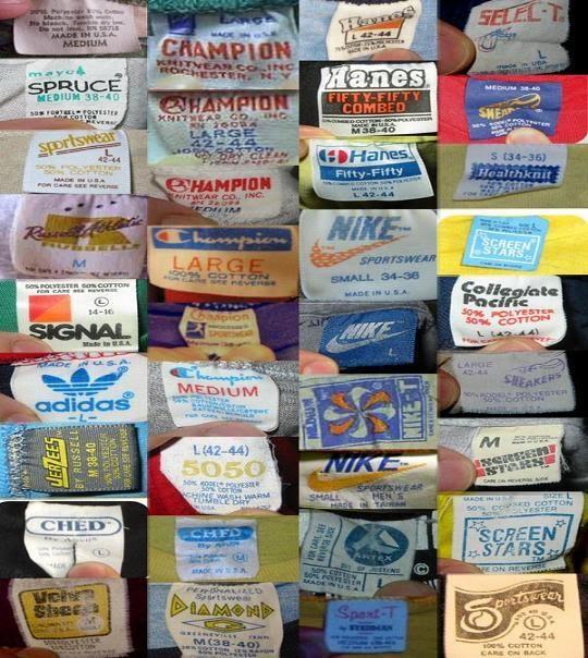 Bulldog Vintage Vintage T Shirt Tags