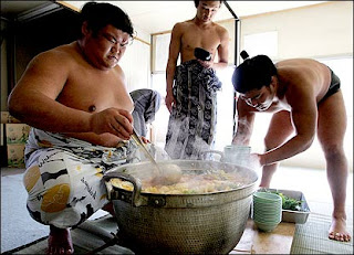 Sumo wrestling is a means of life together with requires a lifetime dedication How to boot the bucket every bit fatty every bit a Sumo wrestler