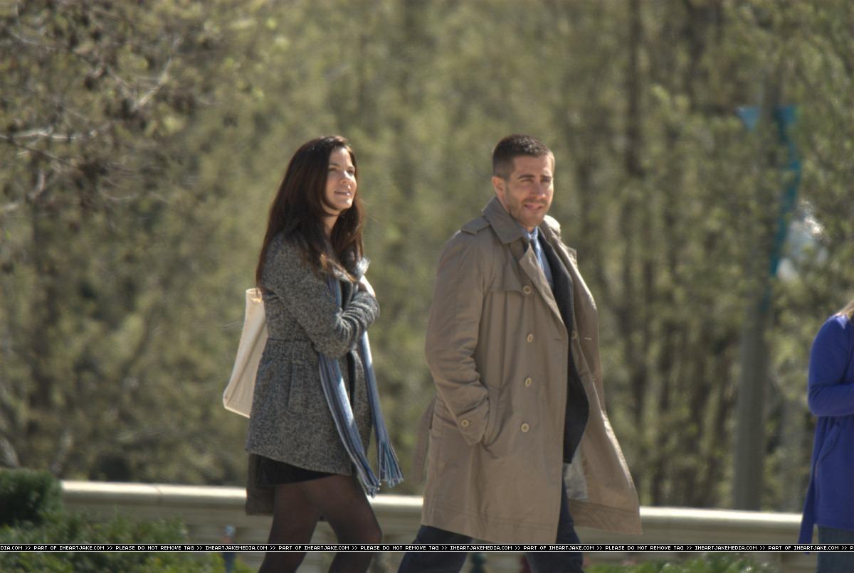 WEIRDLAND: Jake Gyllenhaal & Michelle Monaghan on The Set ...