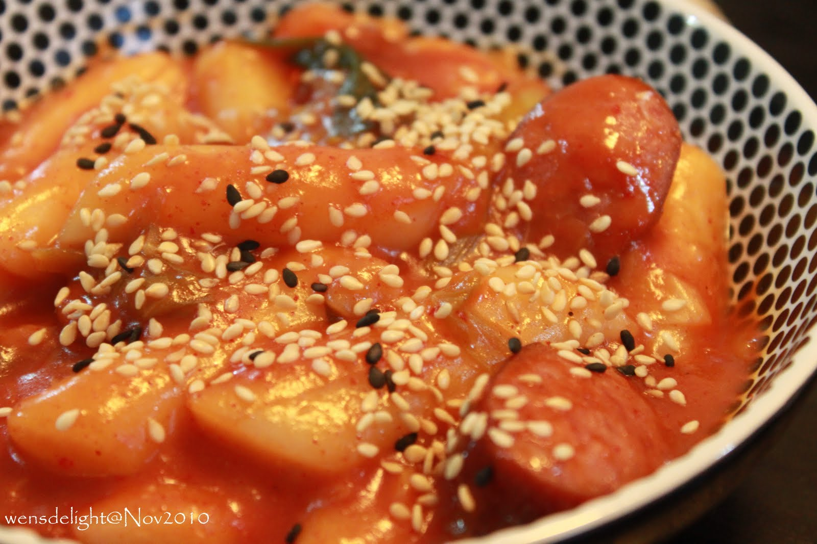 Korean Rice Cake Recipe Gochujang: Wen's Delight: Spicy Korean Rice Cakes