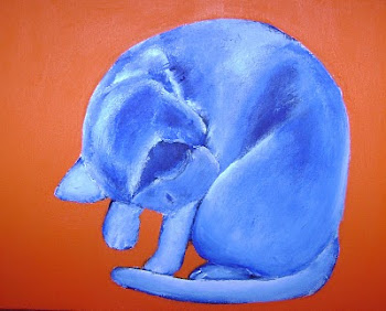 Gattina's Blue Cat