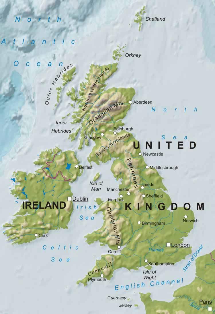 UNITED KINGDOM: UK MAPS