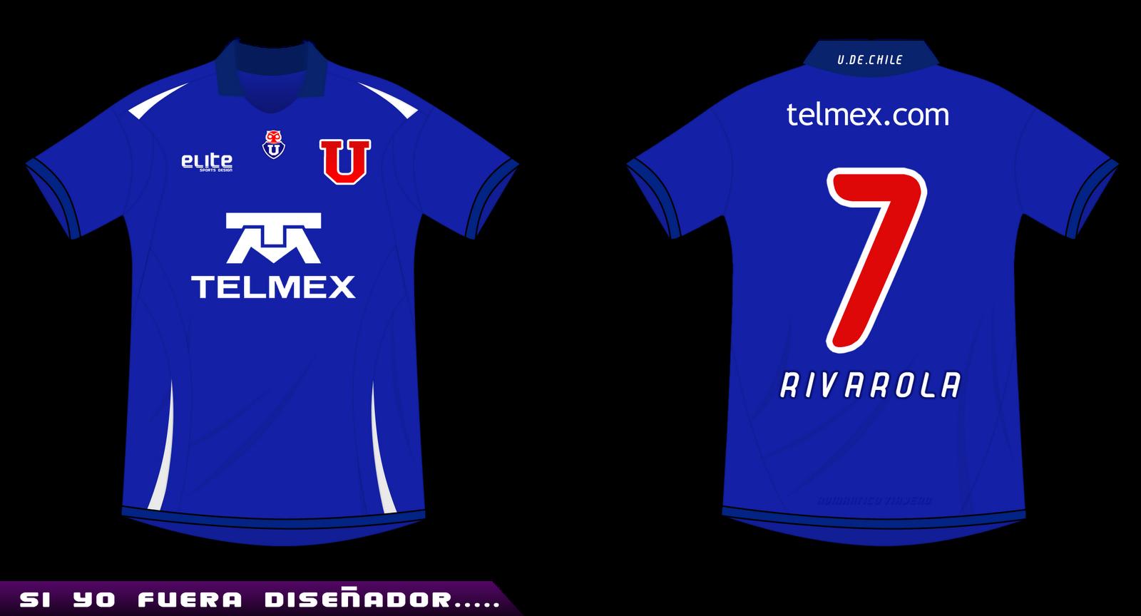Camisetas de Fútbol Chile