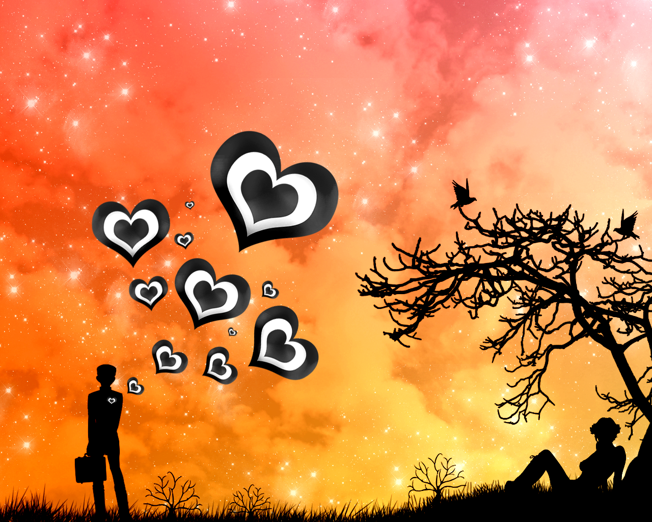 Love Wallpapers HD:wallpapers screensavers