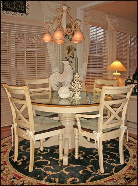 Round Kitchen Table Rug
