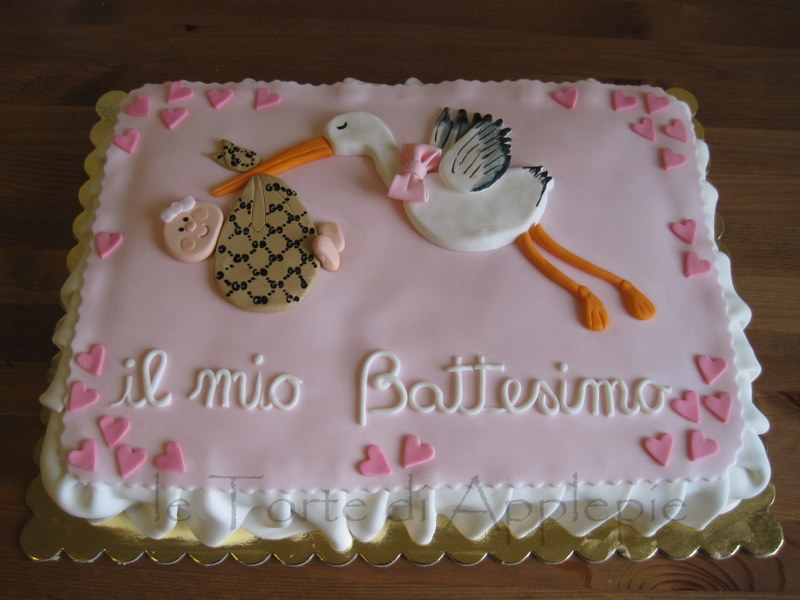 Favorito le torte di Applepie: battesimofashion! AP85