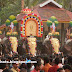 Kerala Temple Festivals&Decorated Elephants-Elephants with Nettipattom In Pooram