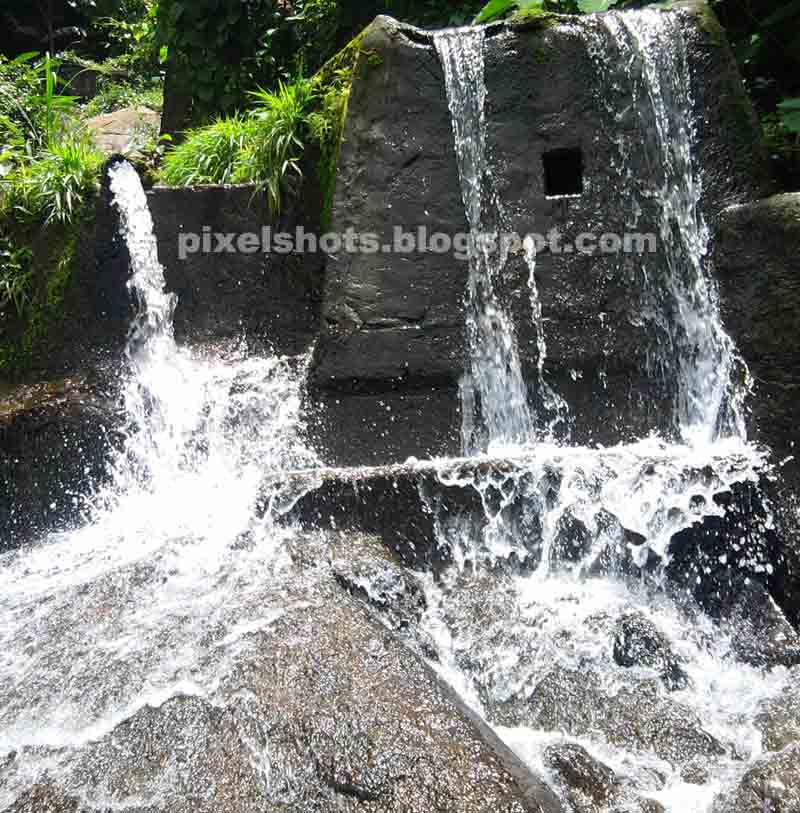Small Waterfalls Near Thenmala Lookout Point Mini Man Made Scenic Points