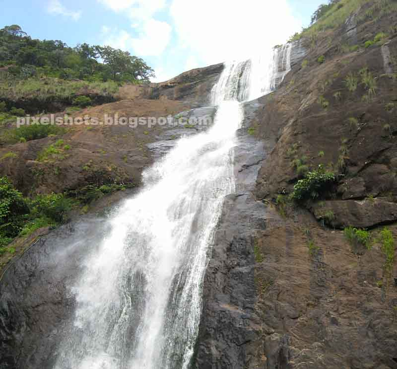 Places To Visit In Thenmala Kerala: Palaruvi Waterfalls,3rd Highest Waterfalls,Kerala-Photos