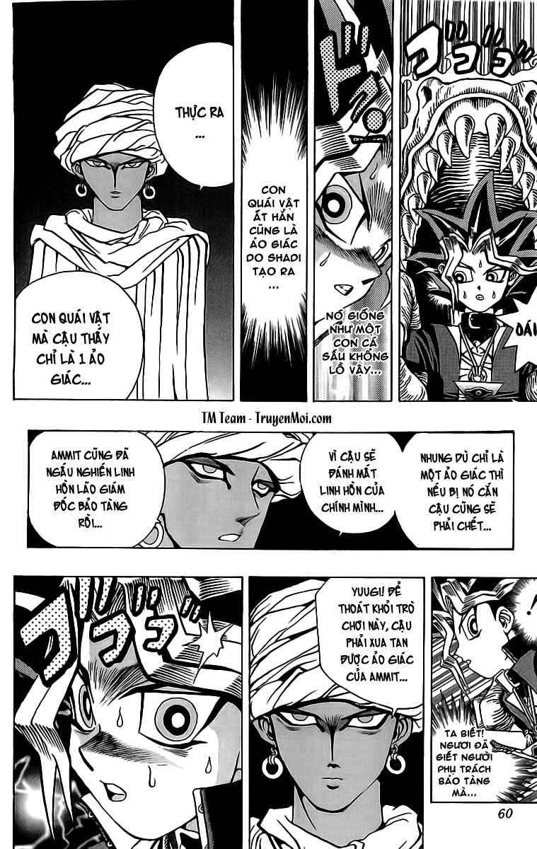 YUGI-OH! chap 18 - trò chơi thứ 2 trang 5