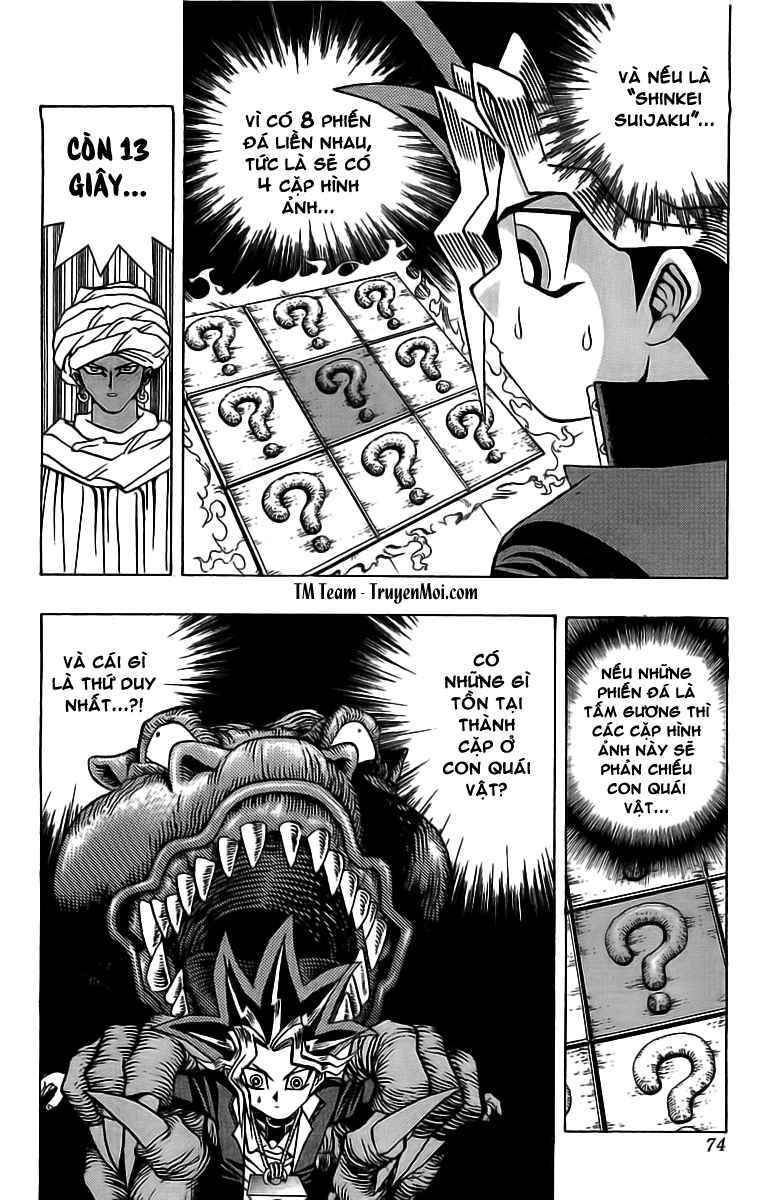YUGI-OH! chap 18 - trò chơi thứ 2 trang 19