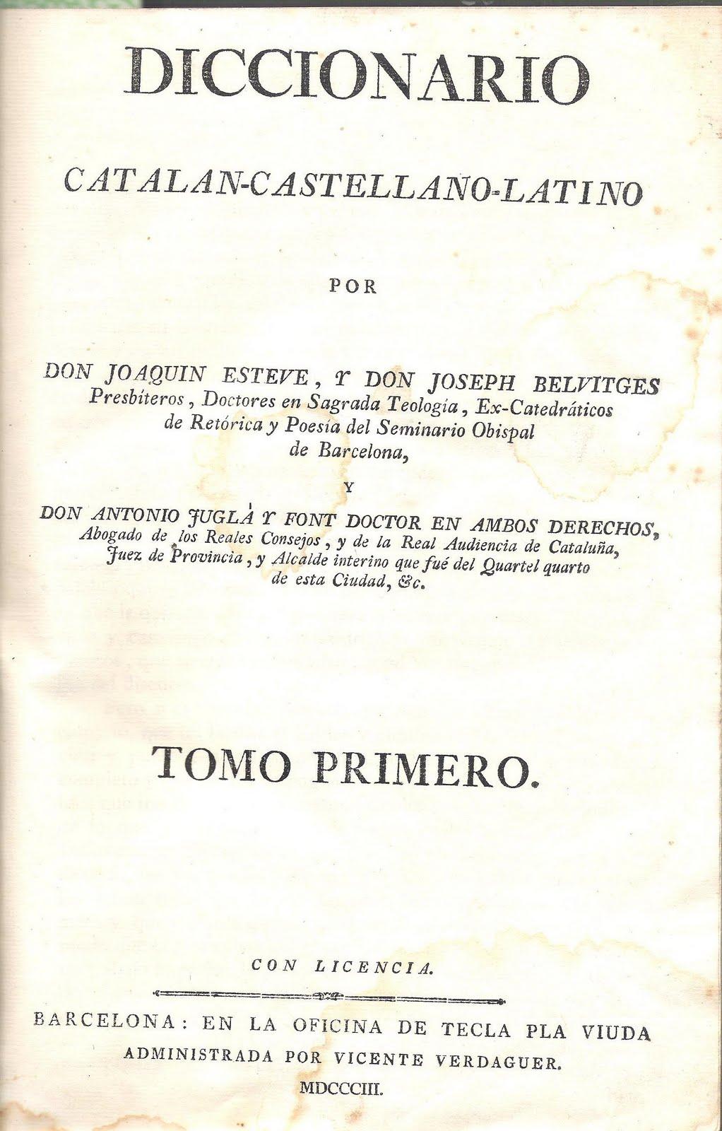 Gazophylacium El Primer Diccionari Català Amb Refranys