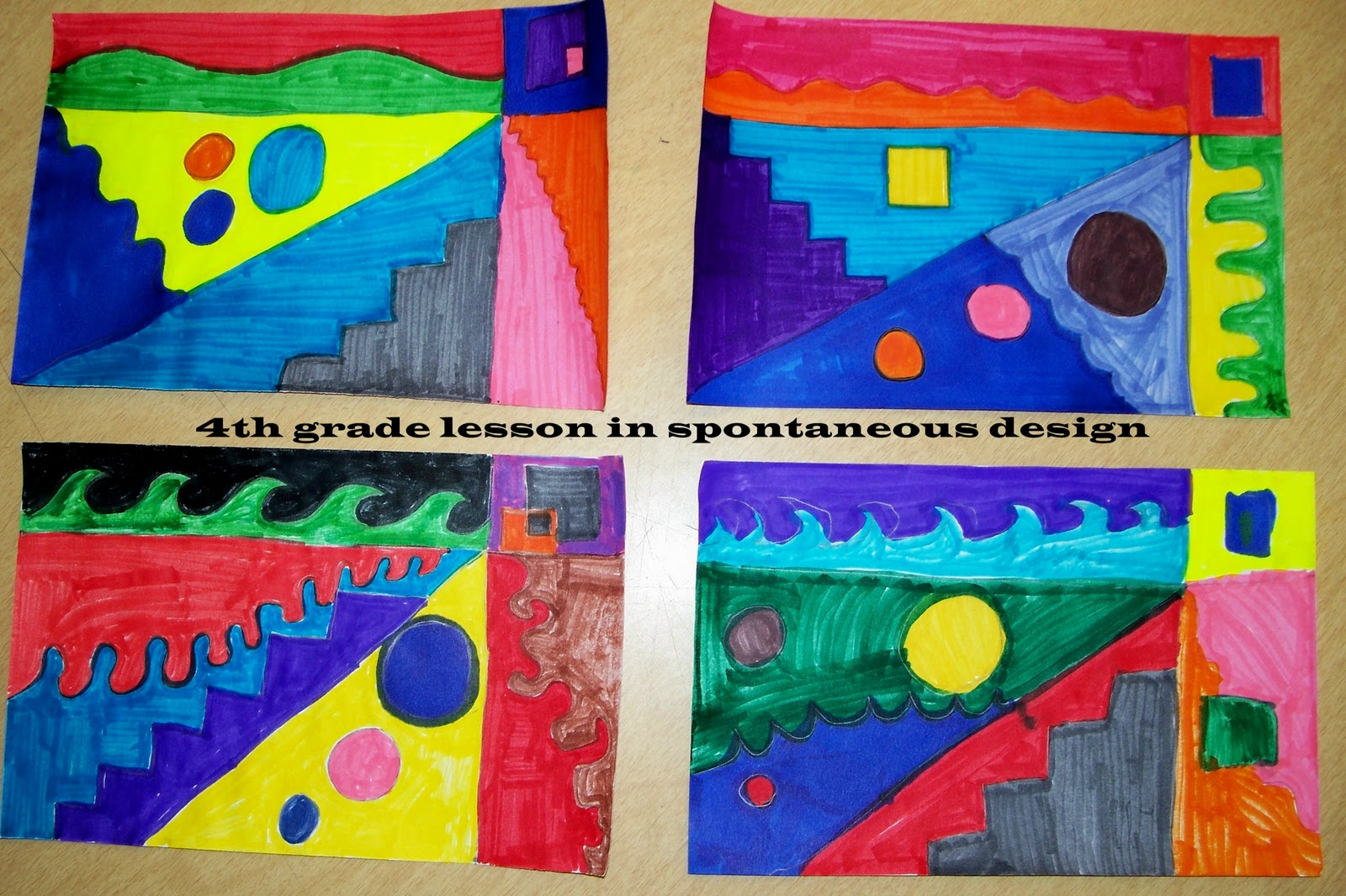 Worthwhile Revel 4th Grade Art Lesson