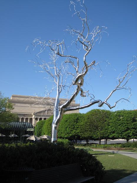 """Kris'skreations """"graft"""" Metal Tree Sculpture"""