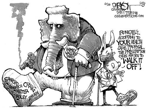 window into my madness: good old political cartoons...