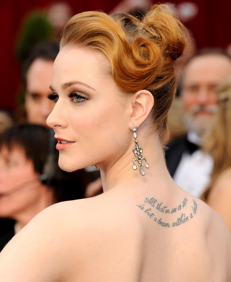Tattoo Historical Quotes: 25 Awesome Celebrity Tattoos Female