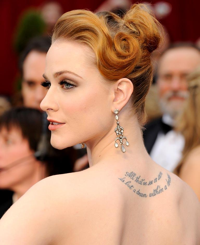 25 Awesome Celebrity Tattoos Female