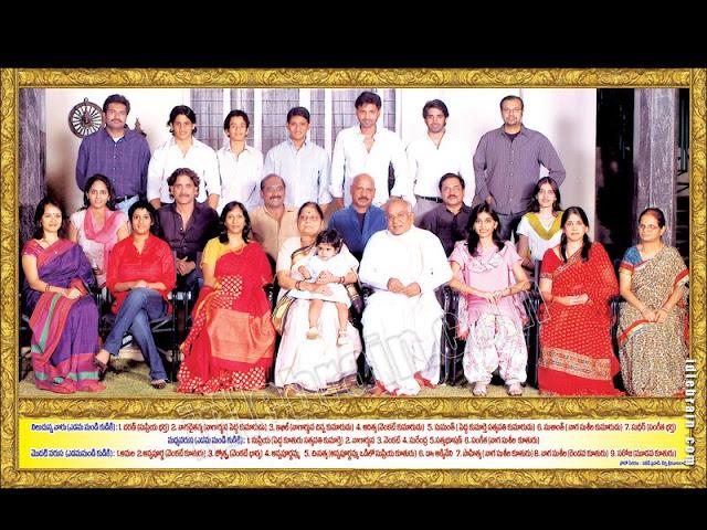 Nagarjuna's family
