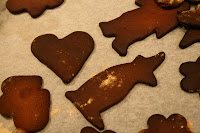 BURNED ginger snaps