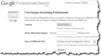 Google Advertising Professionals
