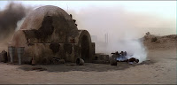 Star Wars: The burning homestead