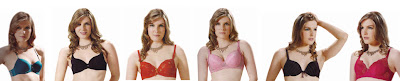 Bras of all colors for ladies