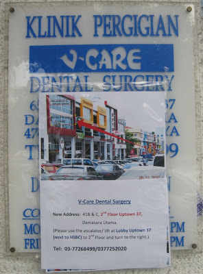 Relocation of V-Care Dental Clinic to Uptown 37