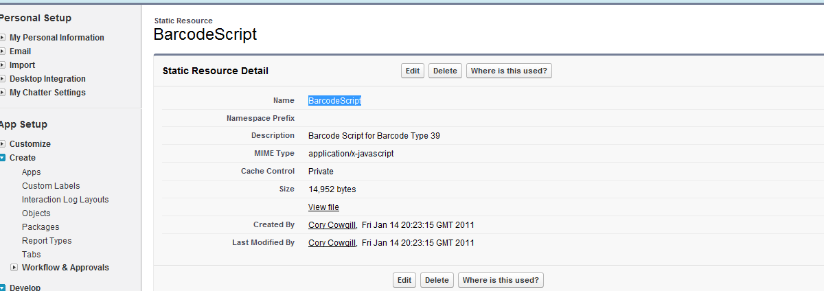 Cory Cowgill - Achievement Unlocked: Generating a Barcode in