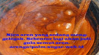 persiapan membuat gula semut
