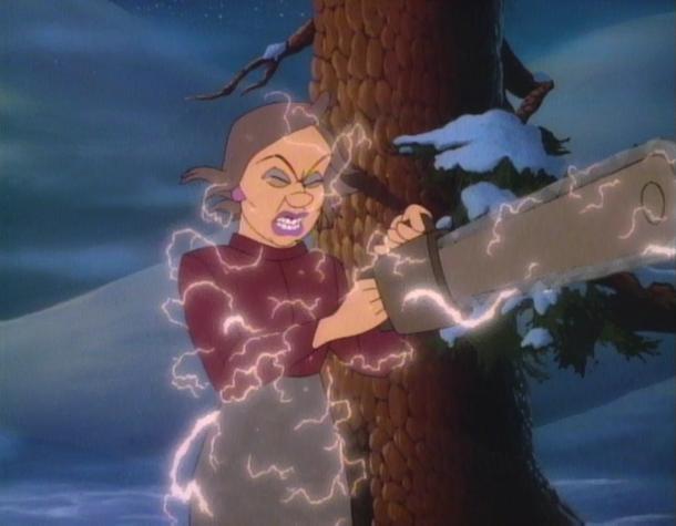 The Christmas Tree 1991.The Christmas Tree Cartoon Movie Decorating Ideas