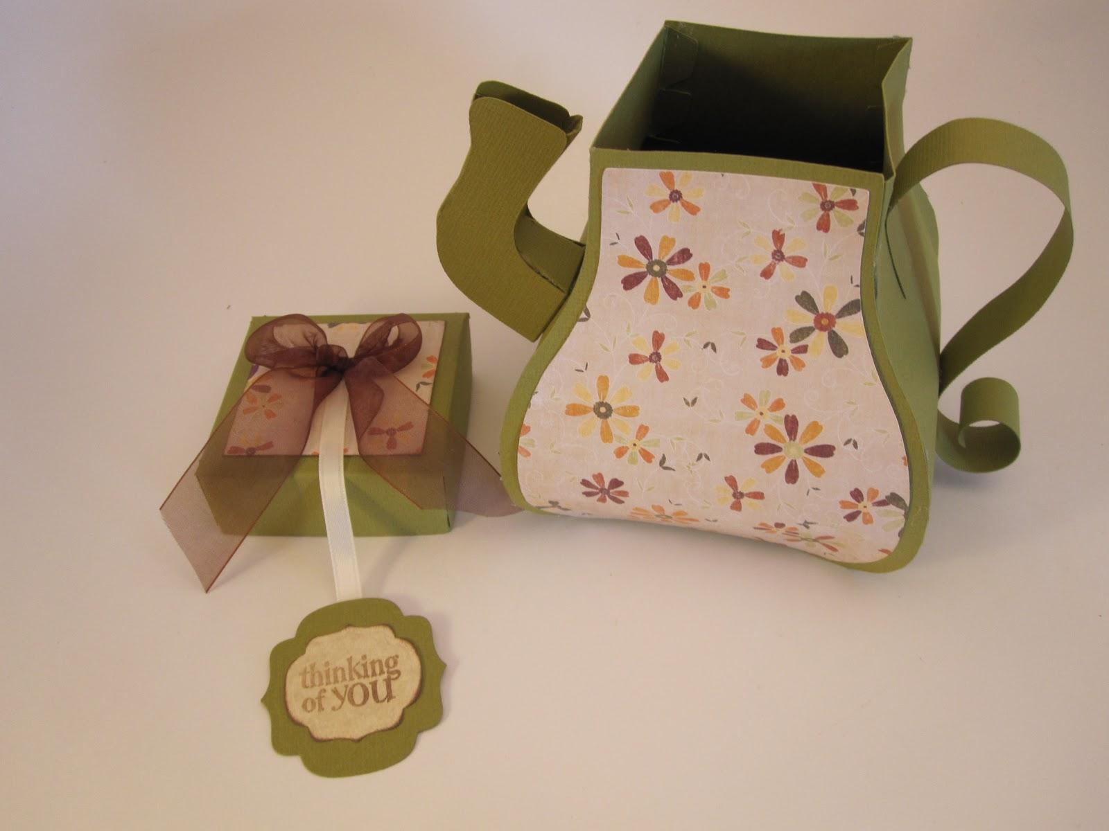 paperpastime teapot gift box. Black Bedroom Furniture Sets. Home Design Ideas
