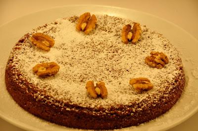 Flourless Walnut Cake Recipe Ingredients