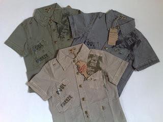 f55f2da3 Superlekker skjorte for gutter i alderen 4-12 år. Fås i 3 flotte farger og  med fine trykk og detaljer.