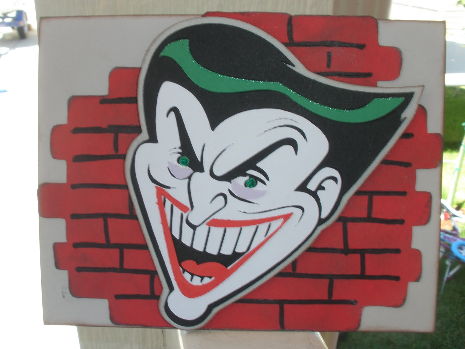 Pin Stars Paper Passion Joker Birthday Card Batmanthe