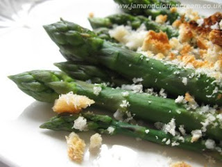 Grilled English Asparagus