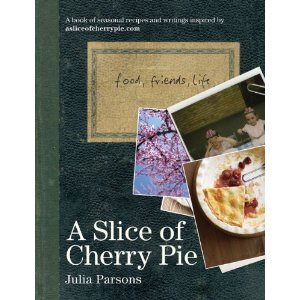 A slice of cherry pie cook book