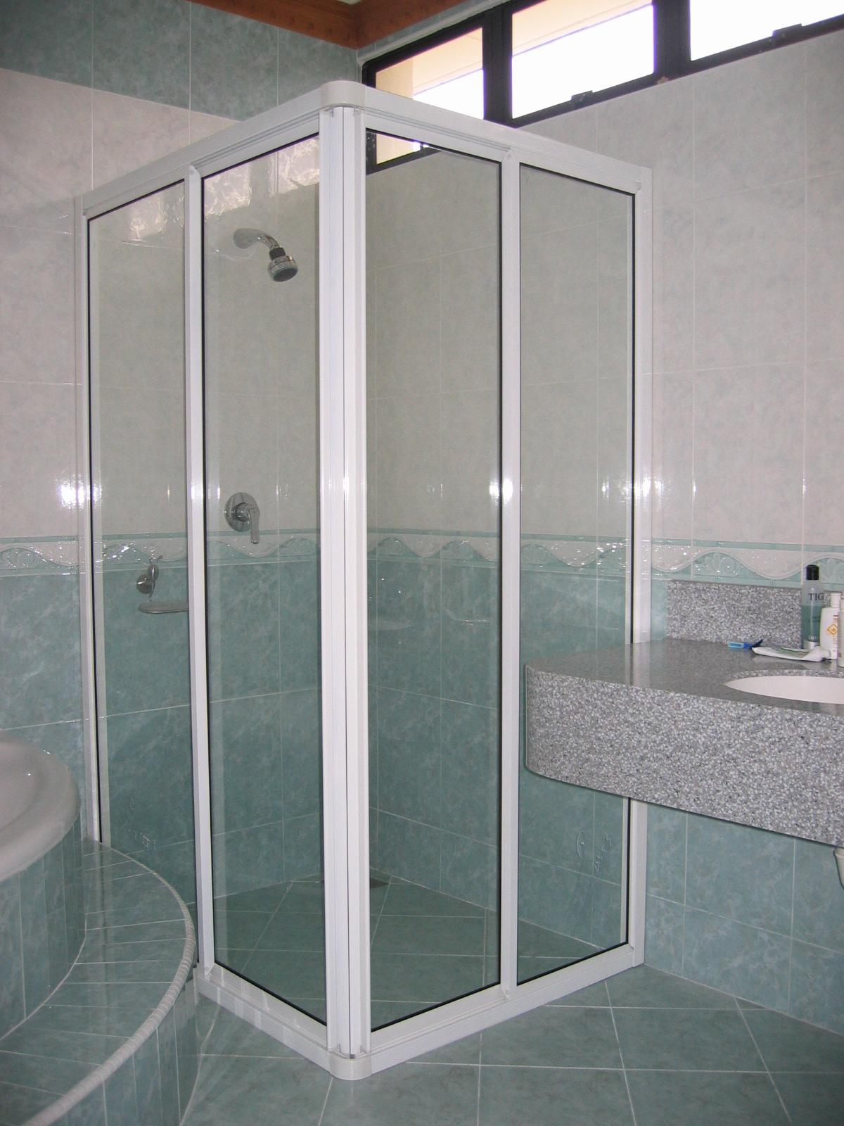 Shower Screen Penang 4mm Frame Shower Screen