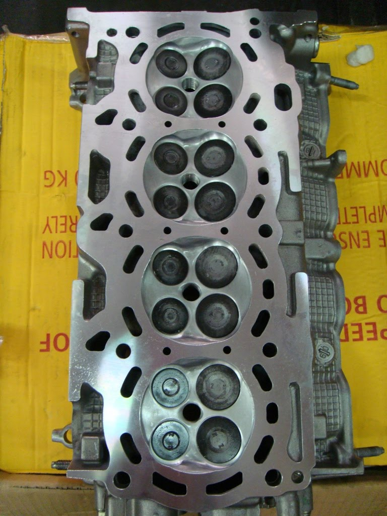 Toyota Vios Turbo: Sneak Preview - Cylinder Head Porting