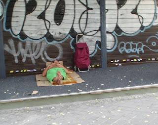 Los nuevos pobres de Madrid