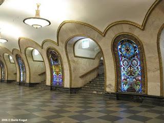 Metro de Moscú. Todo un museo