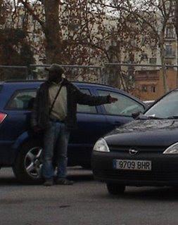 El pecado de ser africanos en Madrid