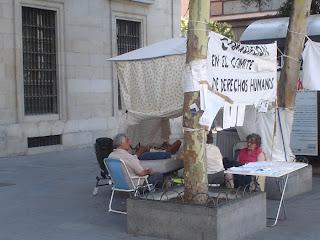13 días acampados frente al Ministerio de Justicia
