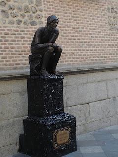 El Pensador de Rodin está en Madrid