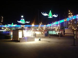 Mercadillo navideño en Puerta de Toledo